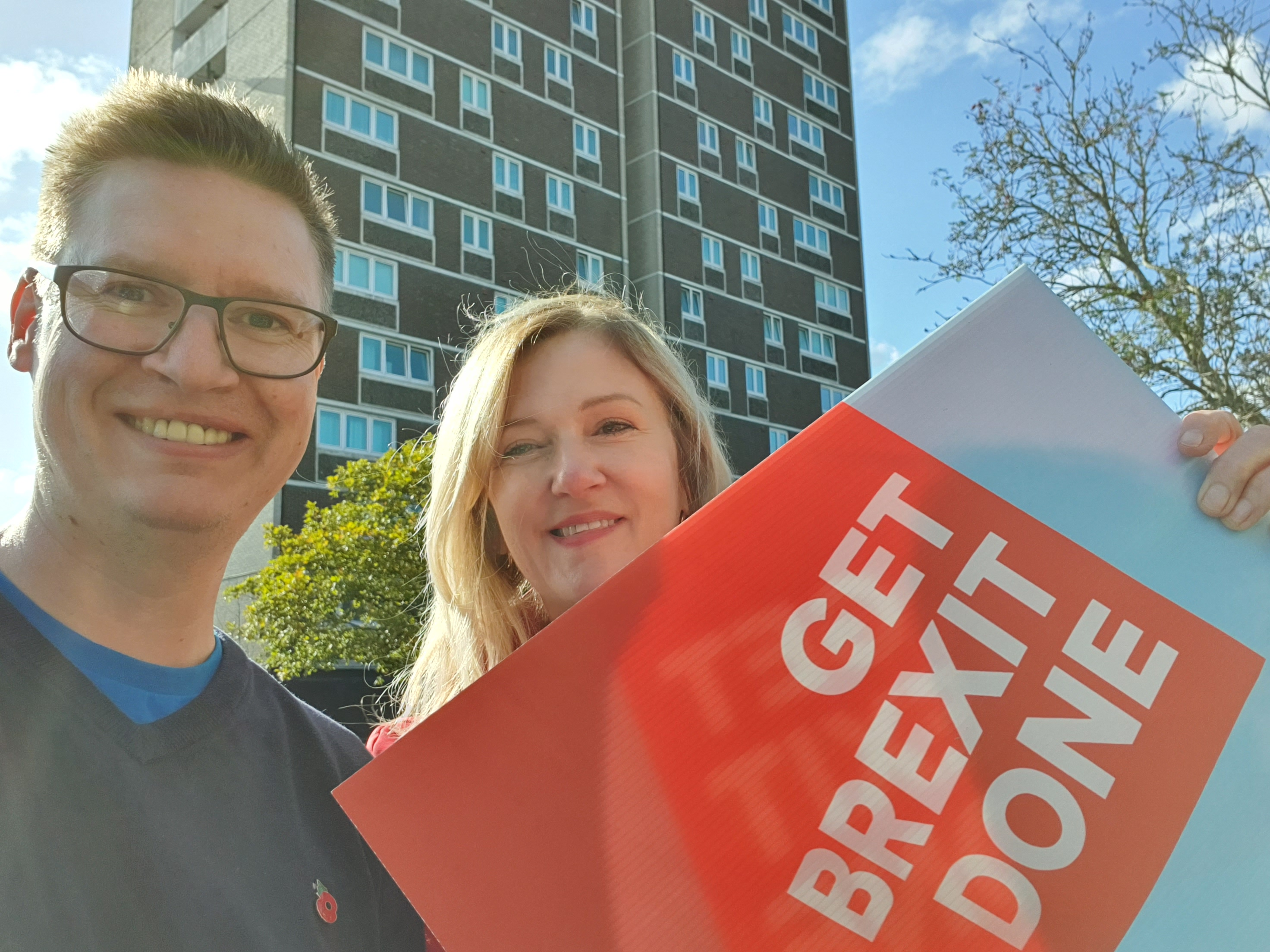 Steven Galton and Amanda Guest out in Redbridge Ward