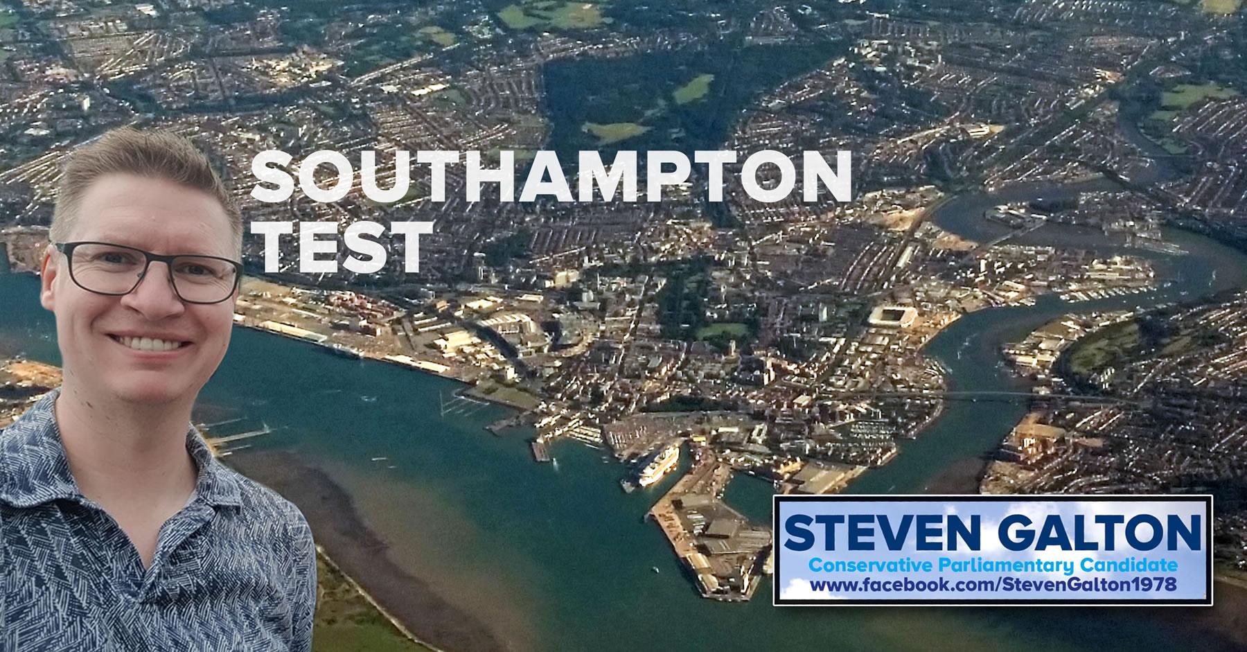 Steven Galton Southampton Test Conservative Parliamentary Candidate