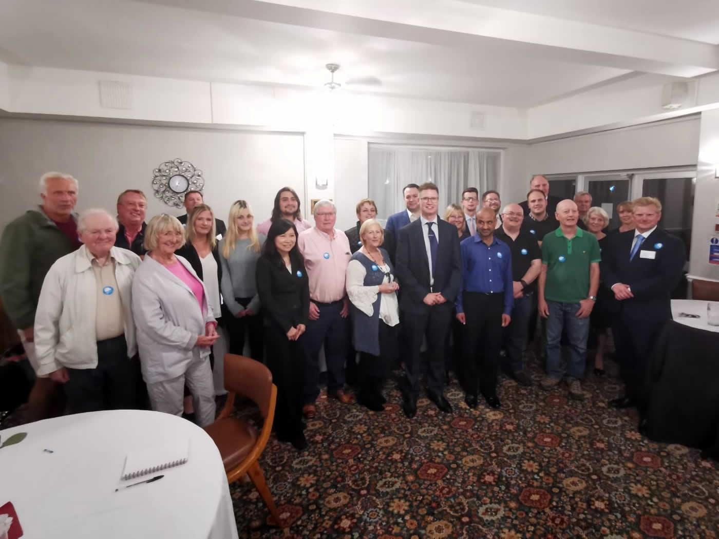 Southampton Test Conservative Members & Steven Galton