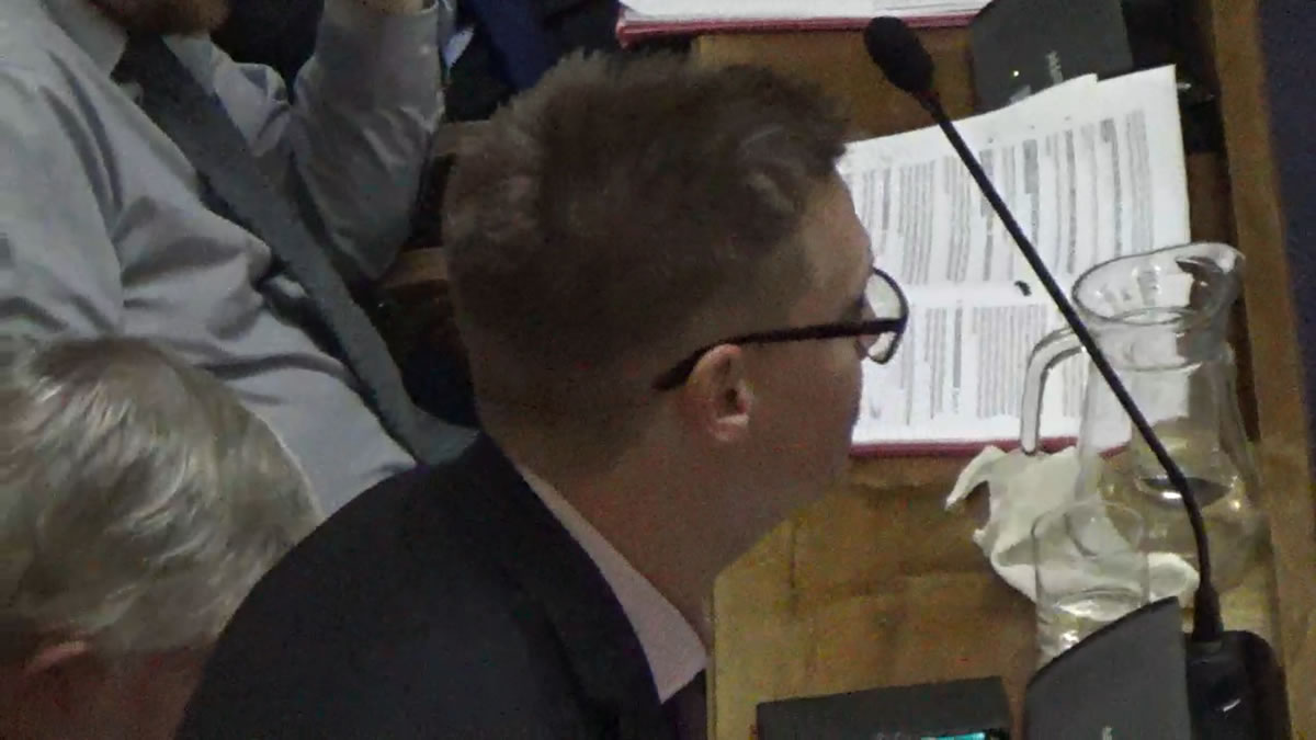 Steven Galton speaking in Sept 2019 at Southampton City Council
