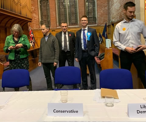Shirley Question Time Southampton Test Hustings 2019