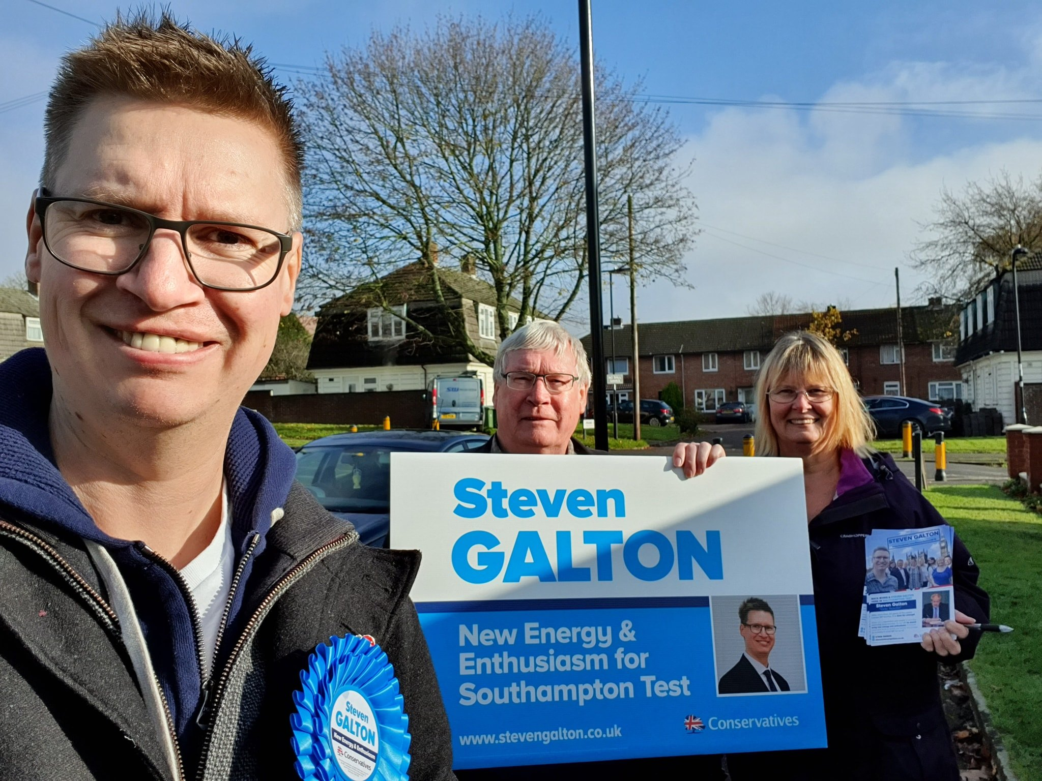 Steven Galton in Millbrook Ward, Southampton Test
