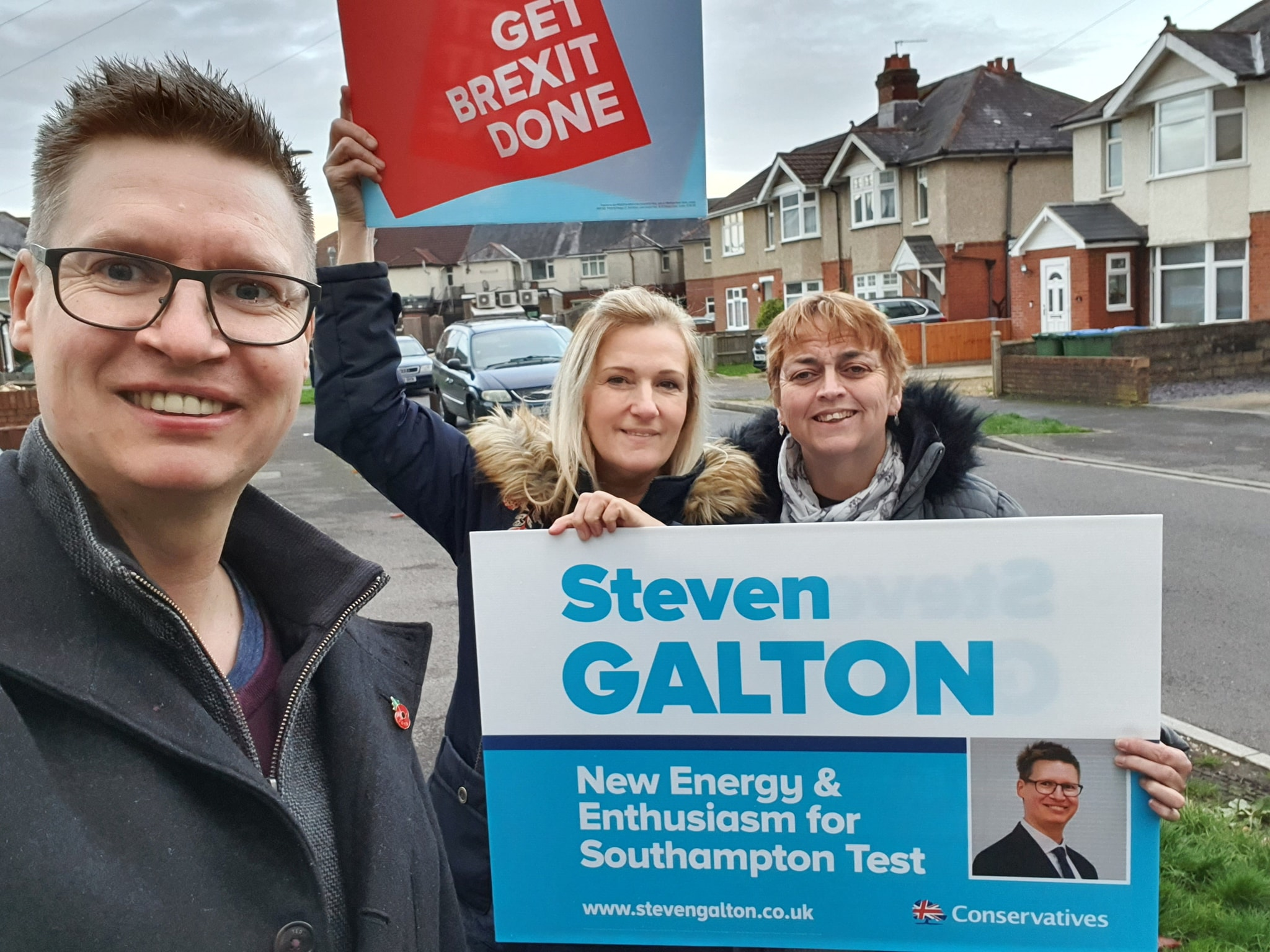 Steven Galton in Redbridge Ward, Southampton Test