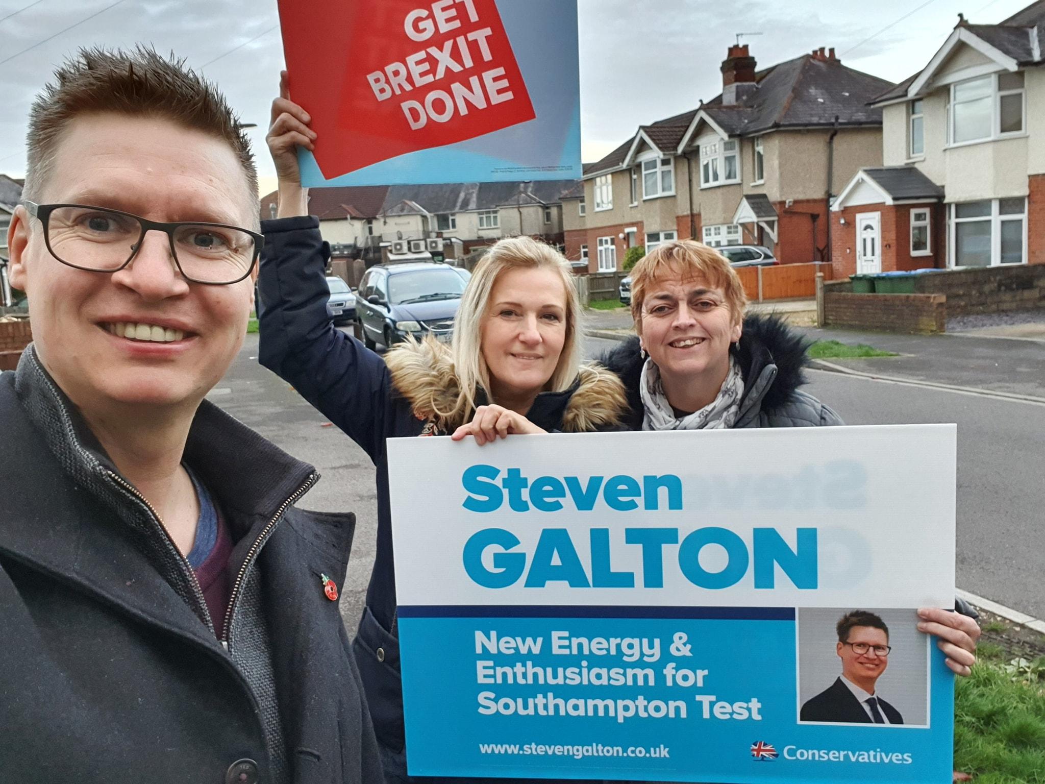 Steven Galton in Redbridge Ward, Southampton Test